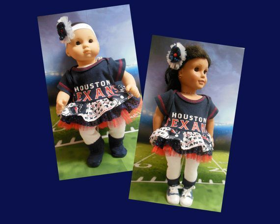 American girl doll clothes Bitty Baby doll clothes Go Texans ensemble (18 inch or 15 inch) cheerleader outfit Houston Texans tutu #18inchcheerleaderclothes American girl doll clothes Bitty Baby doll clothes by TheDollyDama, $18.00 #18inchcheerleaderclothes American girl doll clothes Bitty Baby doll clothes Go Texans ensemble (18 inch or 15 inch) cheerleader outfit Houston Texans tutu #18inchcheerleaderclothes American girl doll clothes Bitty Baby doll clothes by TheDollyDama, $18.00 #18inchcheerleaderclothes