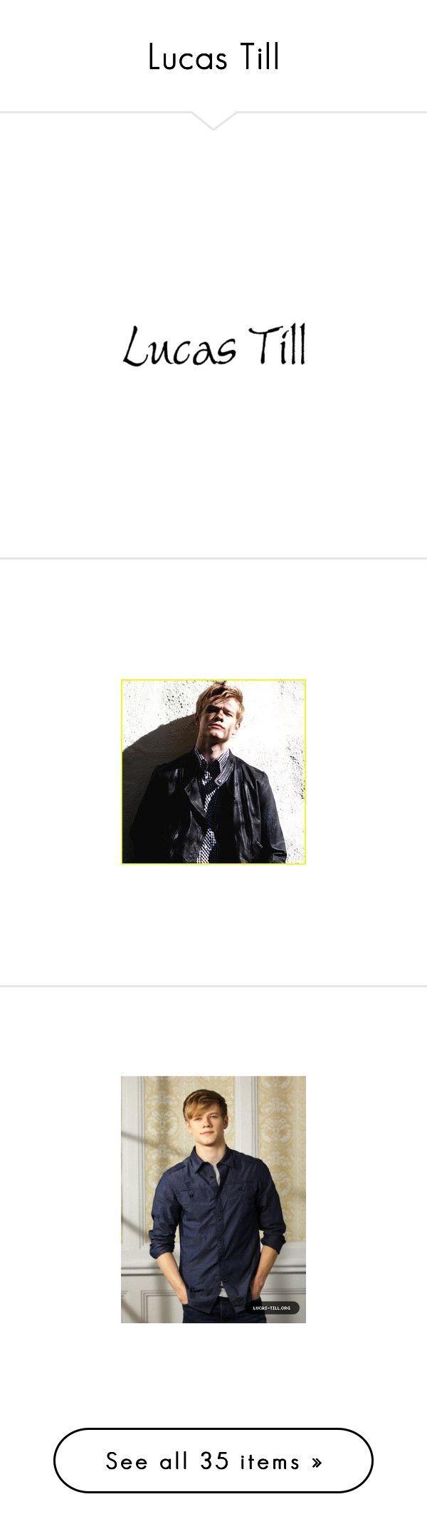 Lucas Till by halana-cgs ❤ liked on Polyvore #lucastill Lucas Till by halana-cgs ❤ liked on Polyvore #lucastill