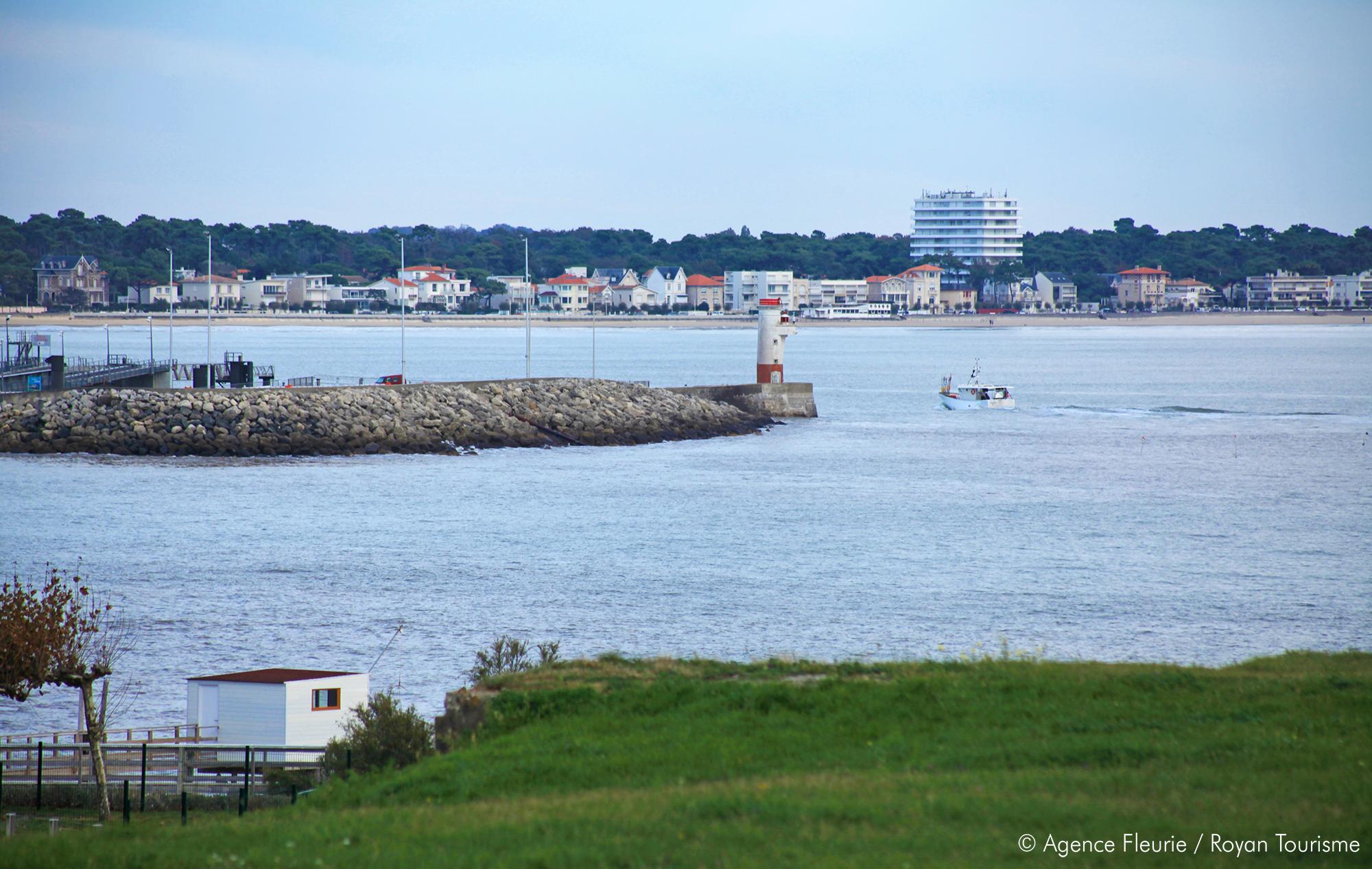 Retour de pêche au Port de Royan, Octobre 2015