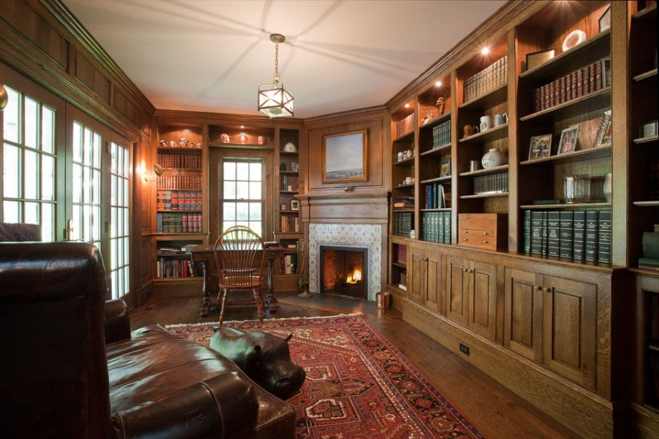 30 Classic Home Library Design Ideas 7
