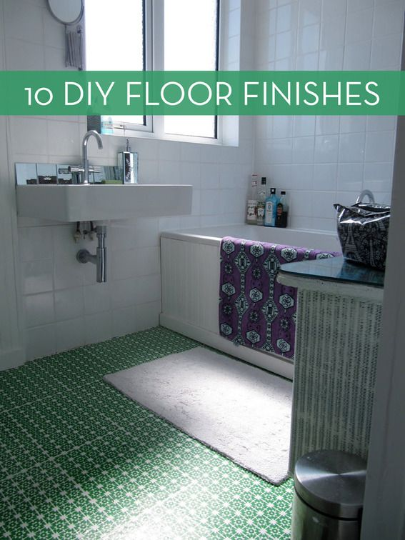 10 Easy And Inexpensive Diy Floor Finishes Diy Flooring Inexpensive Flooring Flooring