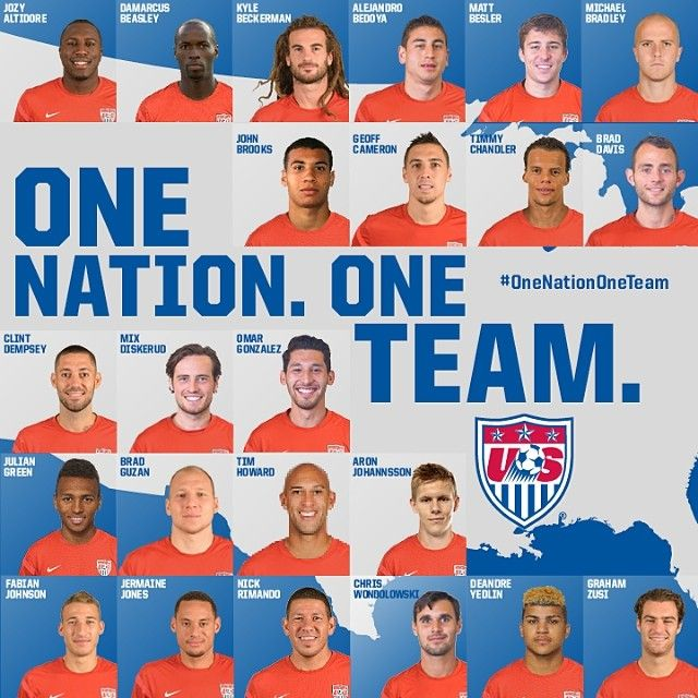 The Usmnt 2014 Fifa World Cup Roster World Cup Teams Usa Soccer Women Team Usa
