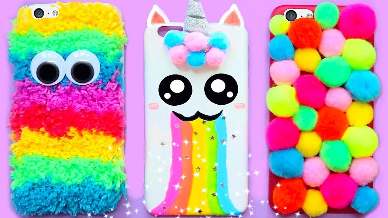 6 Diy Rainbow Phone Cases Easy Cute Phone Projects Iphone