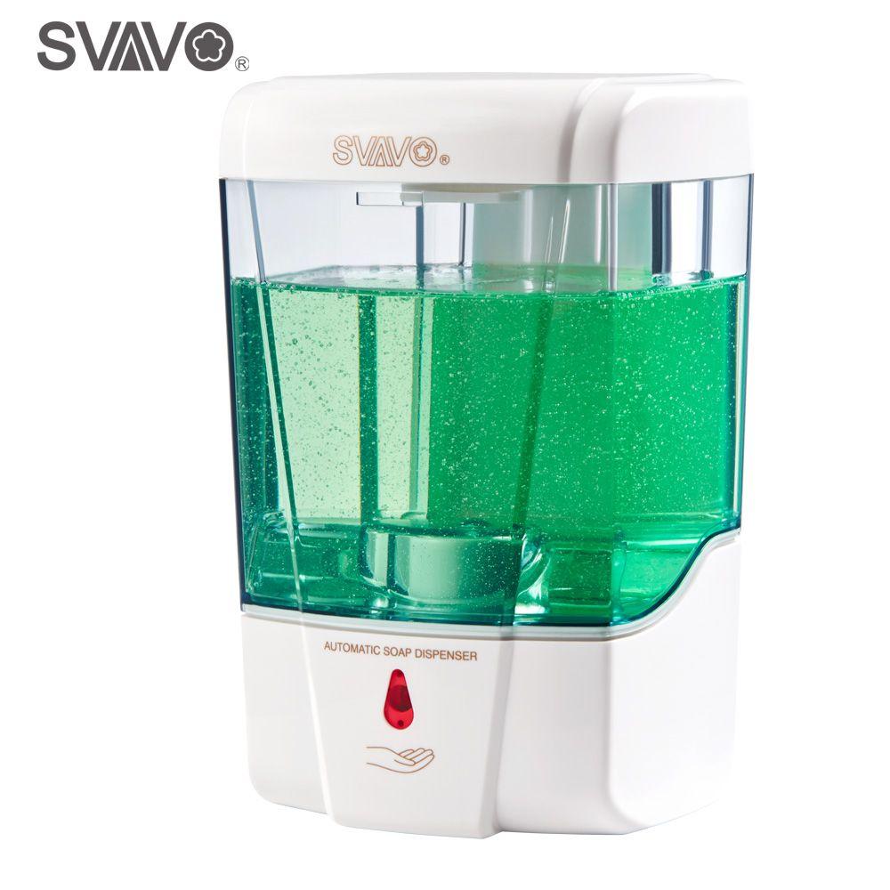 600ml Capacity Automatic Soap Dispenser Touchless Sensor Hand ...