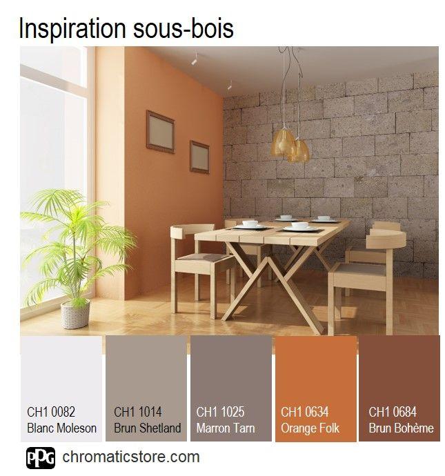 la nature est source d inspiration en d co pour une ambiance sous bois adoptez l orange. Black Bedroom Furniture Sets. Home Design Ideas
