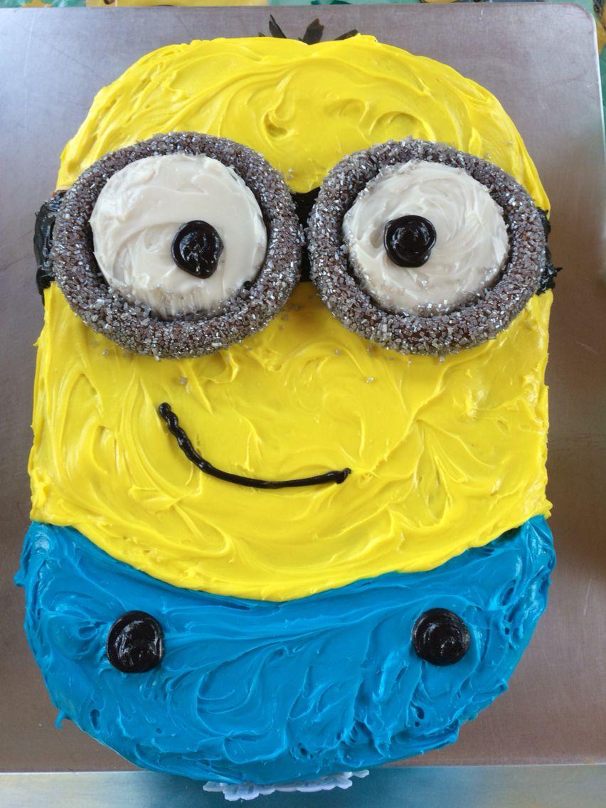 Kevin Minion cake Birthday Cakes Pinterest Minion cakes Cake