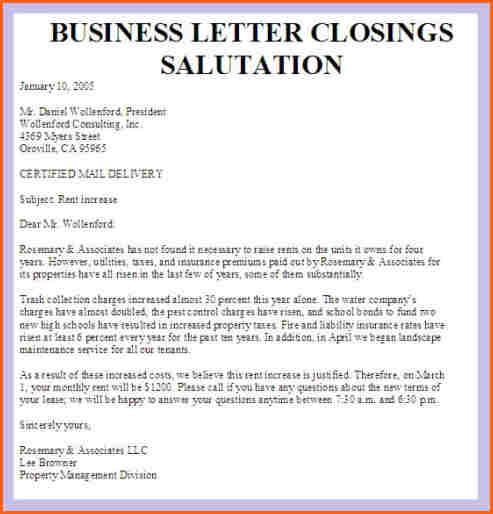Business Letter Salutation Closings Salutationg Closing Looking