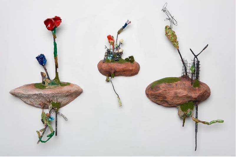 musing about mud: emerging artist