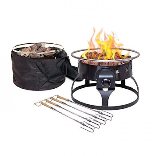 Redwood Fire Pit Propane Fire Pit Portable Propane Fire Pit Fire Pit Walmart