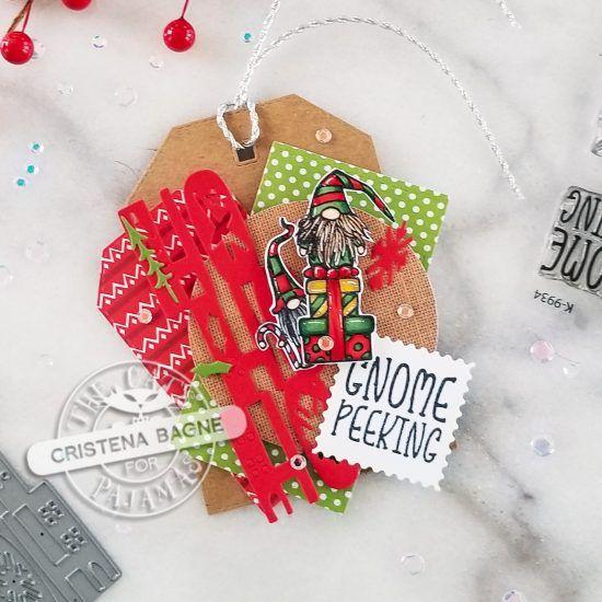 Handmade Card Making, Christmas Tag