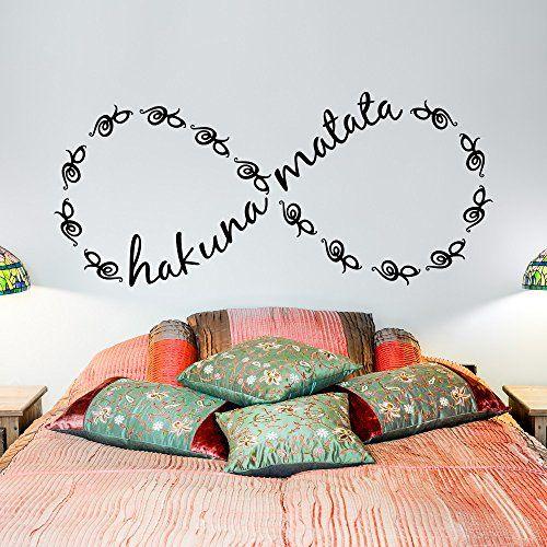 Hakuna matata infinity wall decor