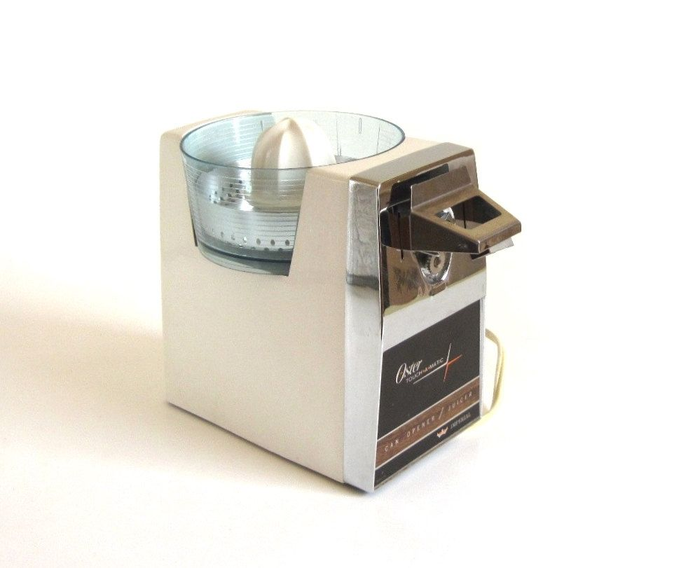 Uncategorized Non Electric Kitchen Appliances oster touch a matic electric can opener juicer 576 01a replacement parts as is non working 1960s turquoise kitchen appliances