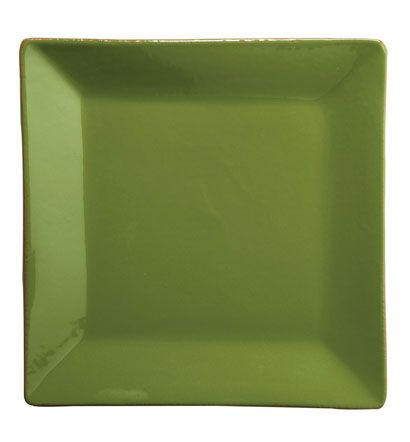 VIETRI - Basilico Green Square Dinner Plate  sc 1 st  Pinterest : green square dinner plates - Pezcame.Com