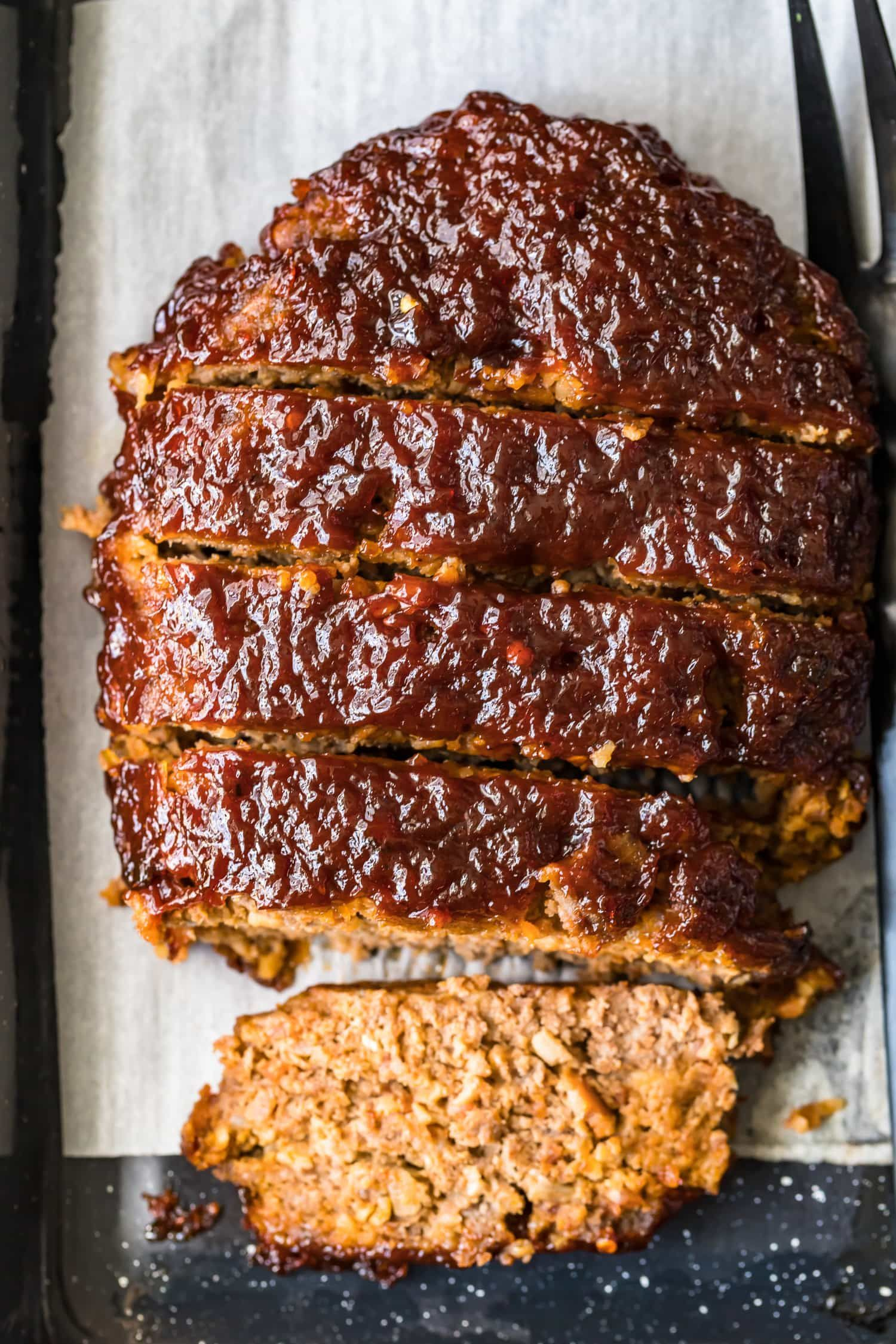 Bacon Infused Meatloaf - When it comes to comfort food, this bacon meatloaf recipe is a winner! Ri