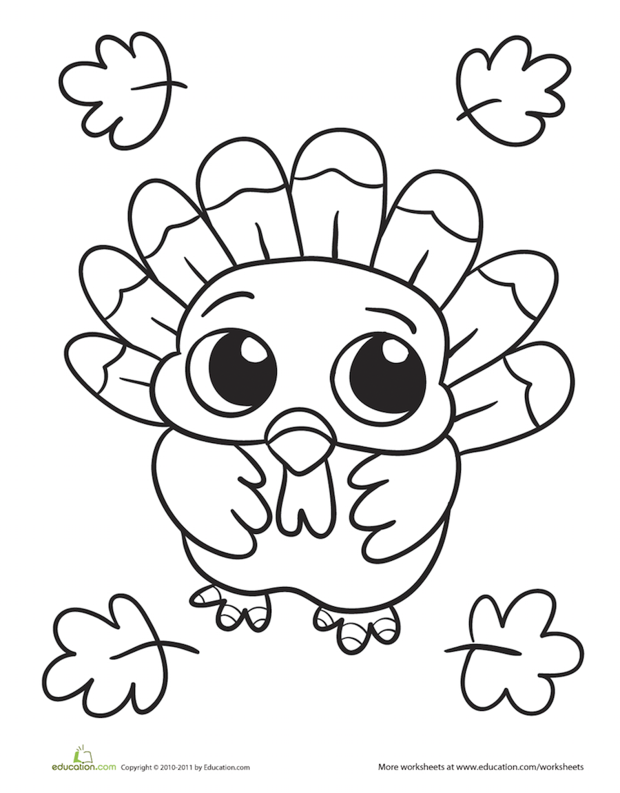 Thanksgiving Coloring Pages | things to do with kids | Pinterest ...