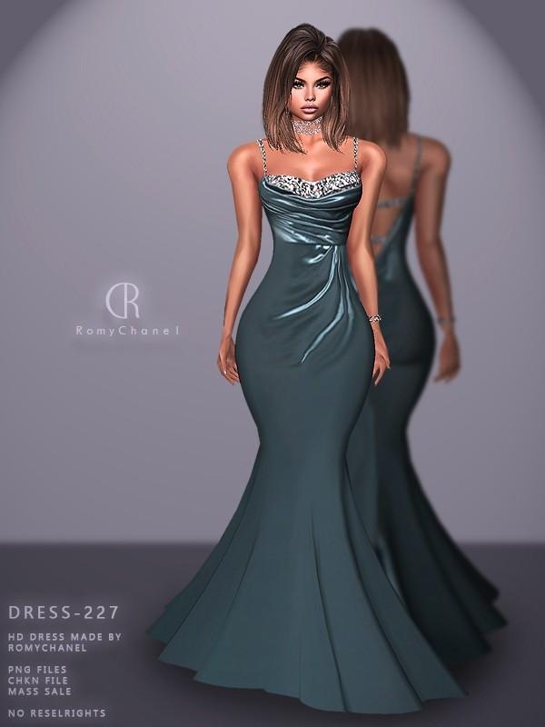 Rc Dress 227 Dresses Sims 4 Dresses Gowns Dresses
