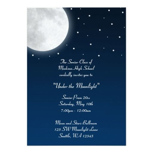 Free Downloadable Starlight Party Invitation Templates Google