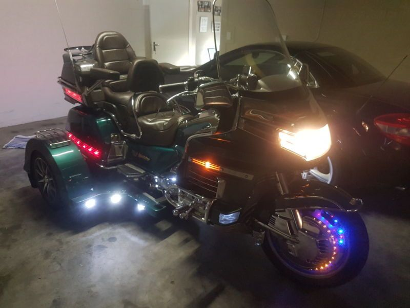 Goldwing Trike More Than R70000 Worth Of Extras Lots Of Chrome