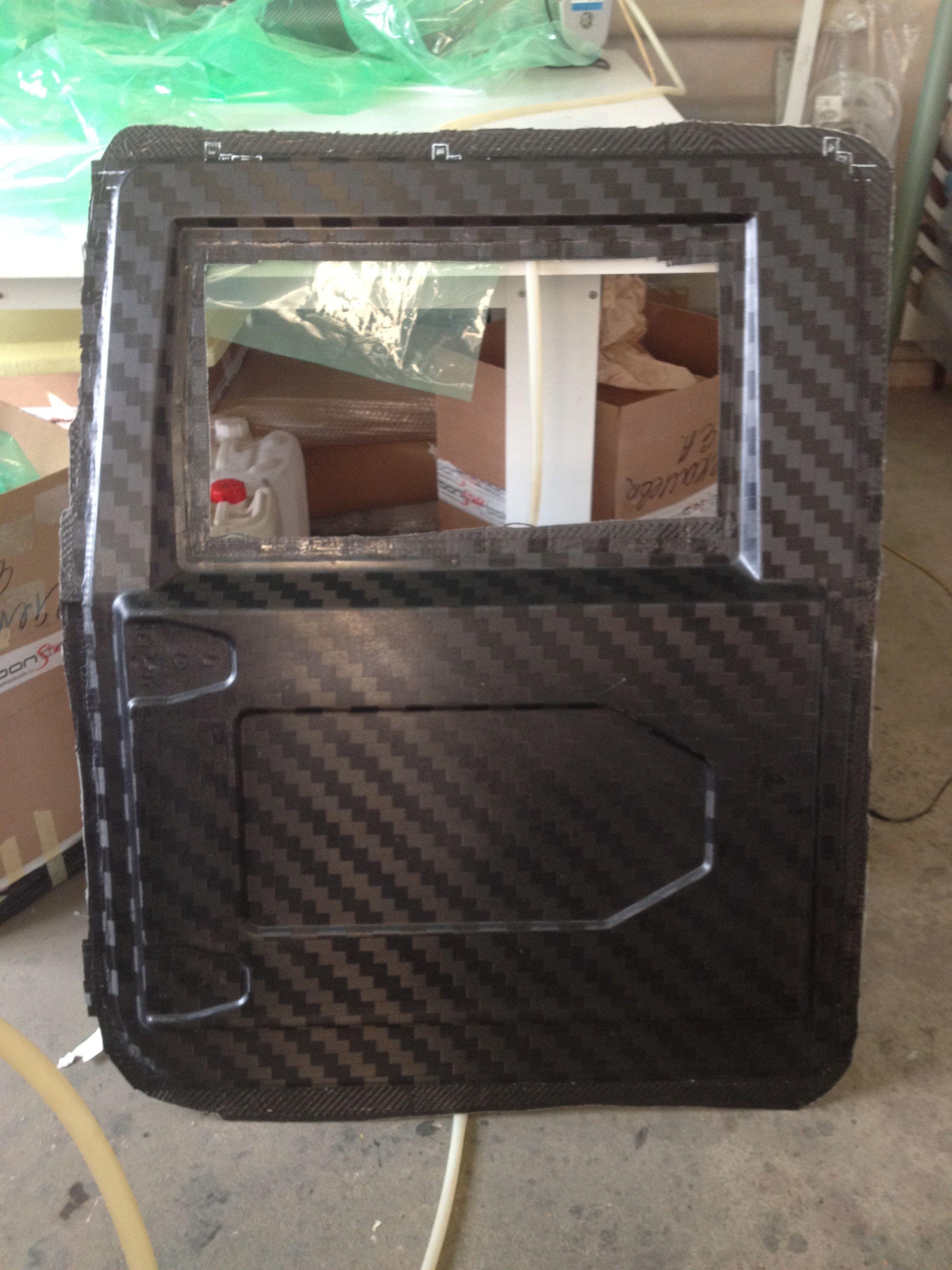 Carbon Fiber Door Now That S Amazing Hummer H1 And
