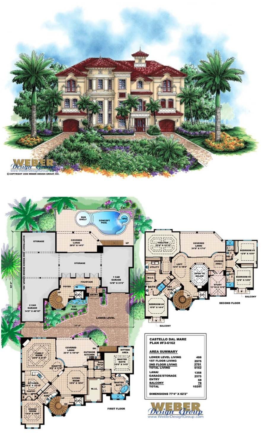 Mediterranean House Plan Mediterranean Style Tuscan Beach Home Plan House Plans Mansion Mediterranean House Plan Craftsman Style House Plans
