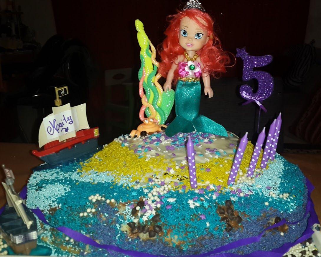 torta la sirenita #Martika4