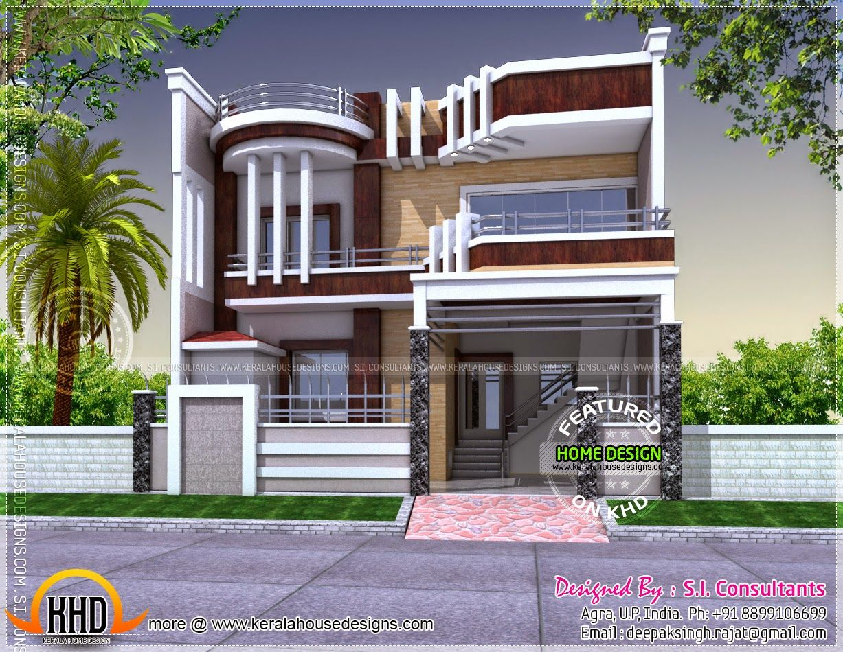 Kerala Home Design And Floor Plans Duplex House Design Kerala House Design Unique Houses