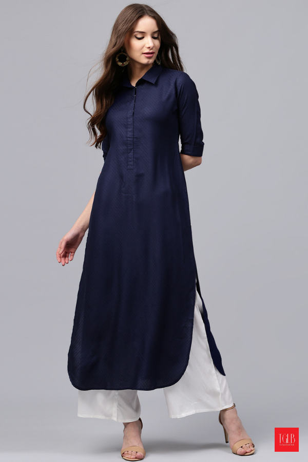 834614d1ca1 5 Best Pathani Kurtas for Women to Wear This Festive Season 1. Simply  Shirts 2. Striped Hi-Low 3. Pretty in Plain 4. Chic Cold Shouldered 5.