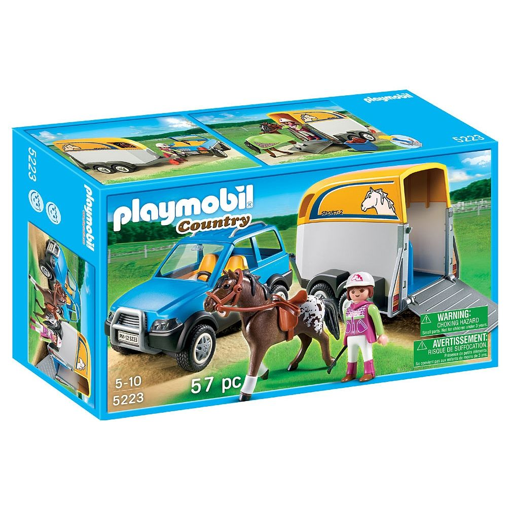 Playmobil - SUV with Horse Trailer (5223) - Playmobil - Toys\