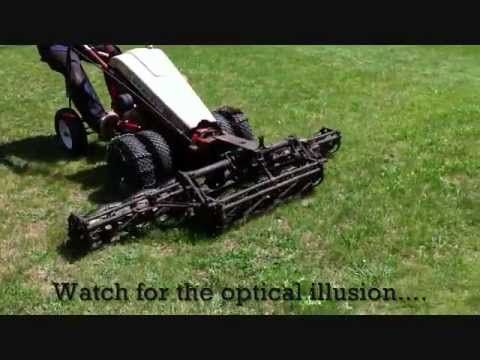 Gravely Reel Gang Mower 72 With Images Walk Behind Tractor Lawn Tractor Lawn Maintenance