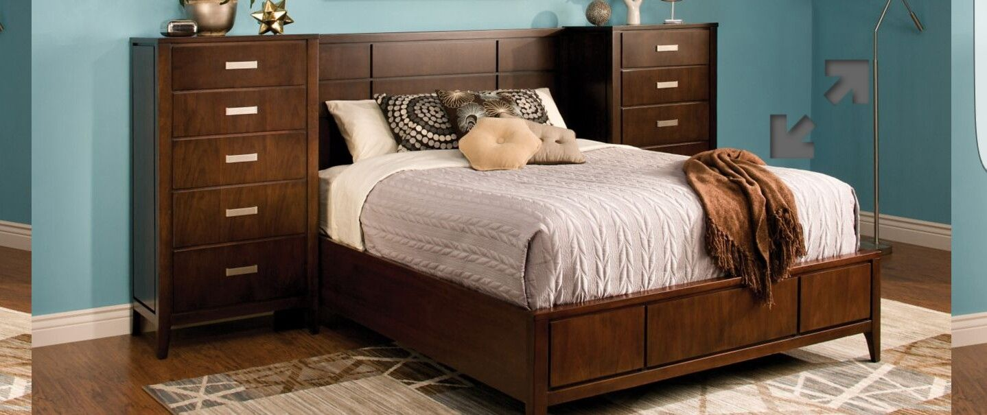 Storage bed Contemporary bedroom, Bed, Full platform bed