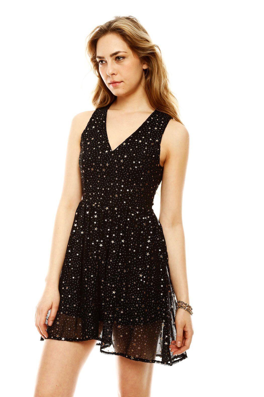 0f6e4e74d54 Star Print Dress