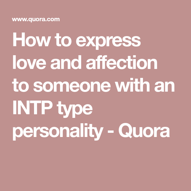 how to express love to someone