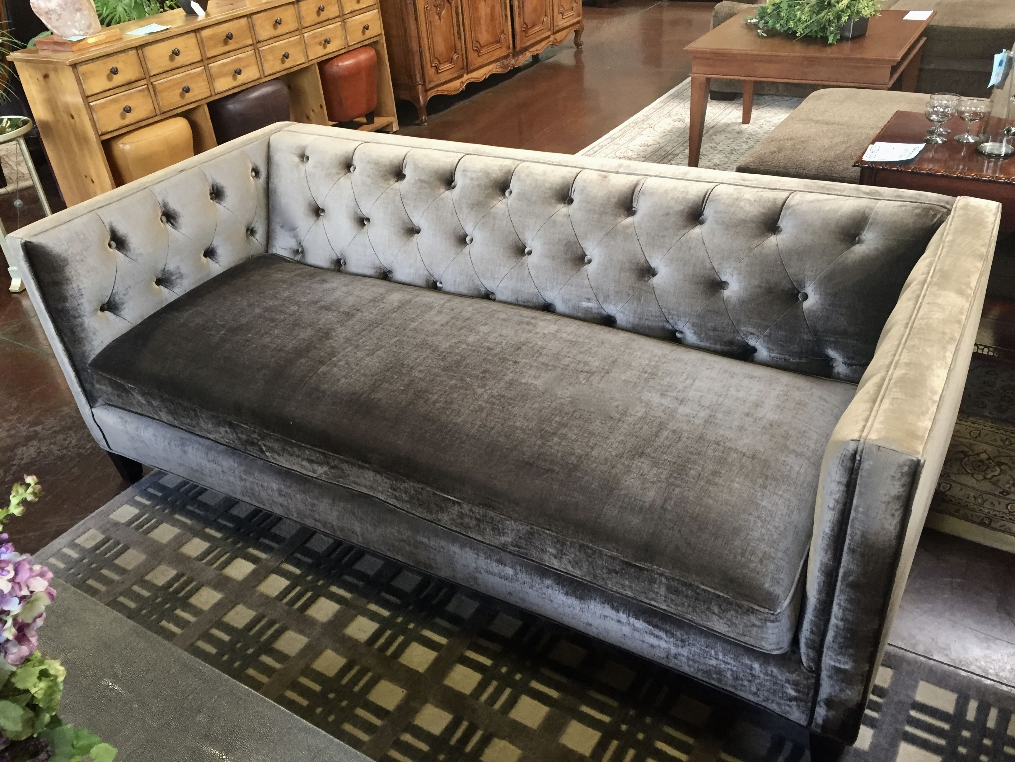 Z Gallerie Chenille Couch Scottsdale Used Furniture Stores Consignment Furniture Furniture