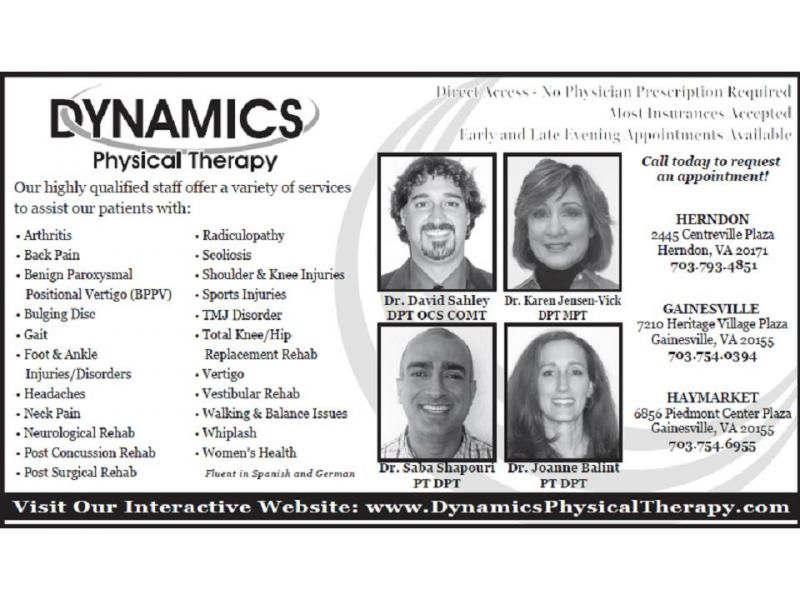 Physical Therapy Fairfax VA | Dynamics Physical Therapy ...