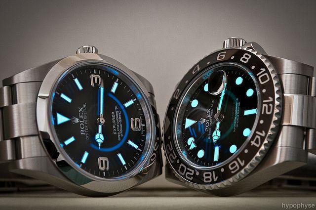 Rolex Explorer & Submariner