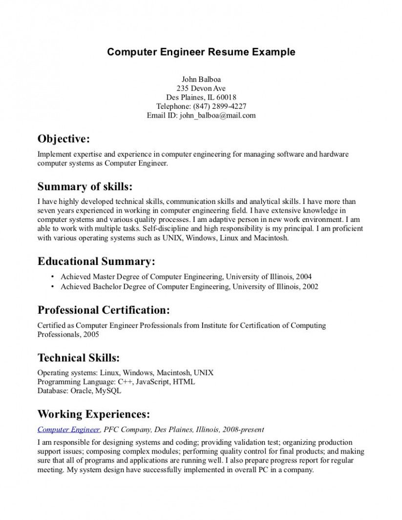 Resume Job Objective Examples Customer Service In 2021 Resume Objective Examples Engineering Resume Resume Examples