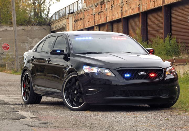 Ford Stealth Pi Concept Undercover Police Cars Ford Police 2014 Ford Taurus