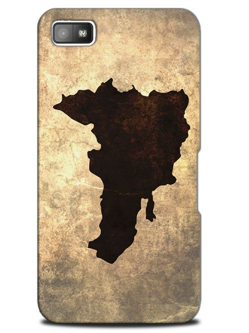 Dominican Republic Vintage National Country Case Cover Design for Blackberry