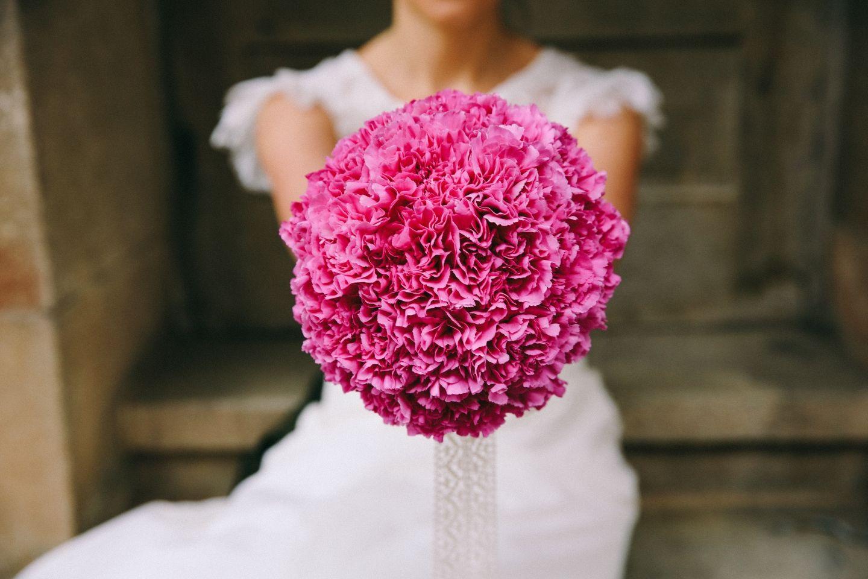 Vintage Brautstrauss Pinke Nelken Blumenstrauss Hochzeit Nelke Hochzeit Brautstrauss Vintage