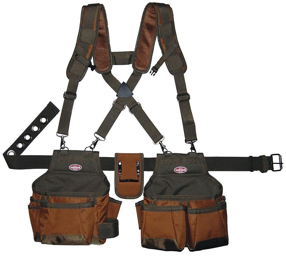 Large Framer Tool Belt Pro Pouch Bag Framing Electrician Kit ...