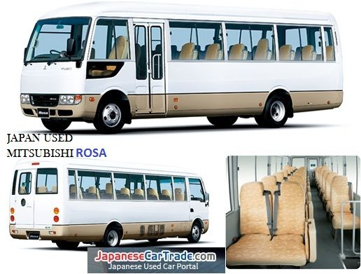 best quality mitsubishi rosa buses from japan starting price at 4 000 usd only  more than 250