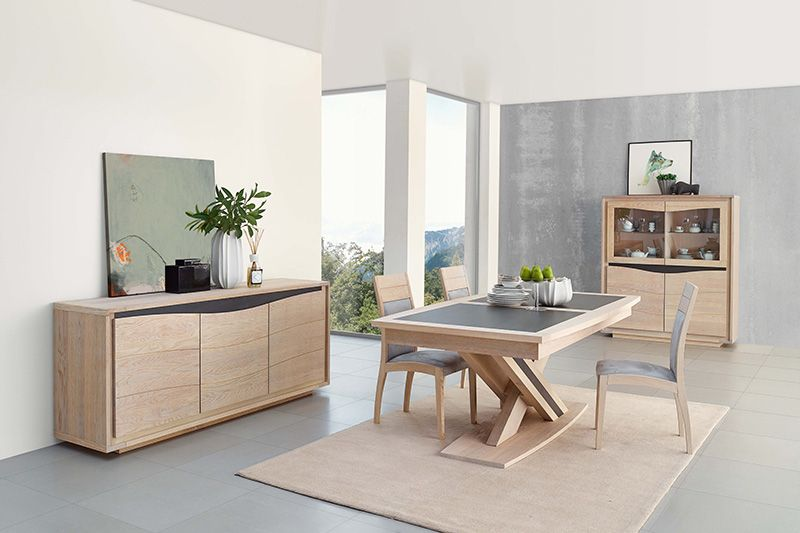 Omille Durable Et Chic Meubles Nikelly Salle A Manger Pinterest