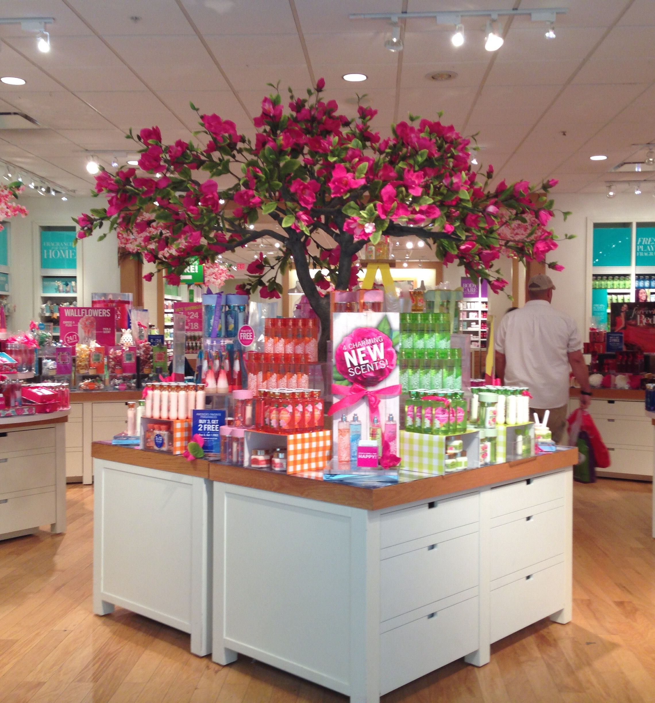 Spring Display At Bath & Body Works