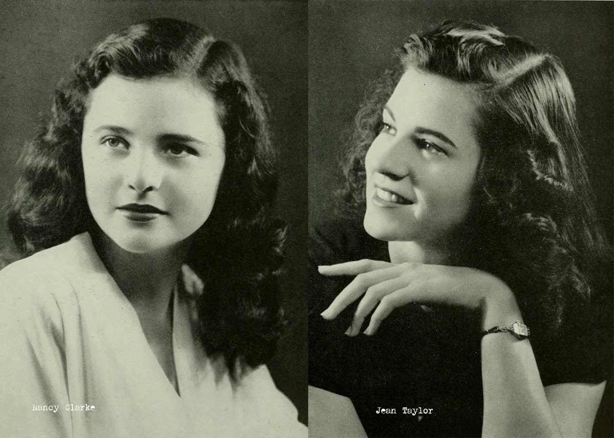 1940s College Girl Hairstyles 1940s Hairstyles Vintage Hairstyles Hair Styles