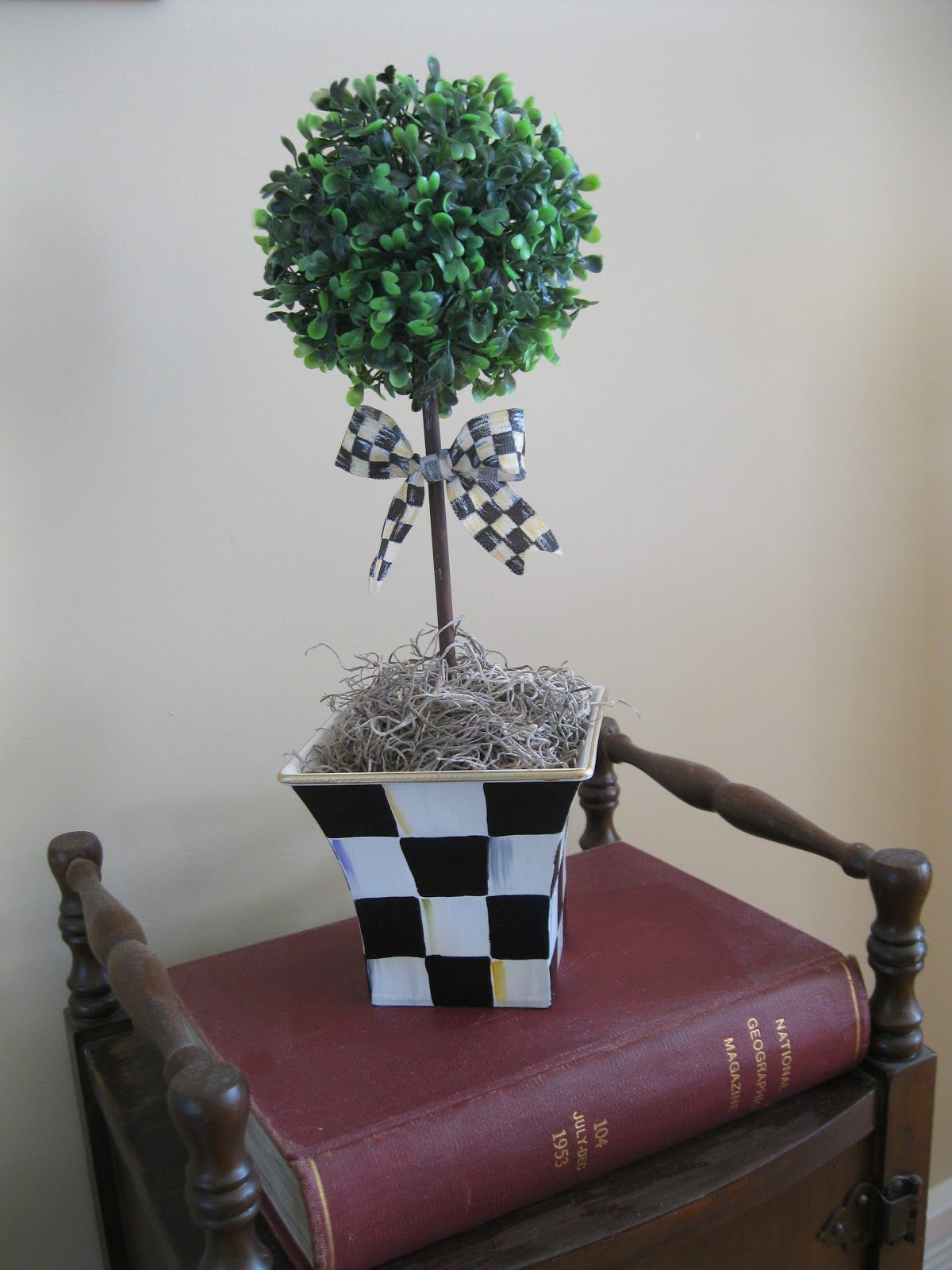 Pandoras Box How To Make A Topiary  With A