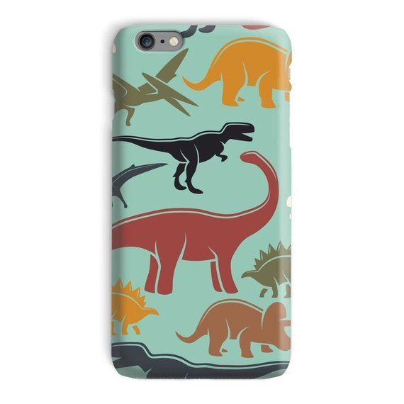 on sale 73a3a 1180a Dinosaur iPhone Case, Dino iphone 7 case, Trex iphone 6 plus case ...