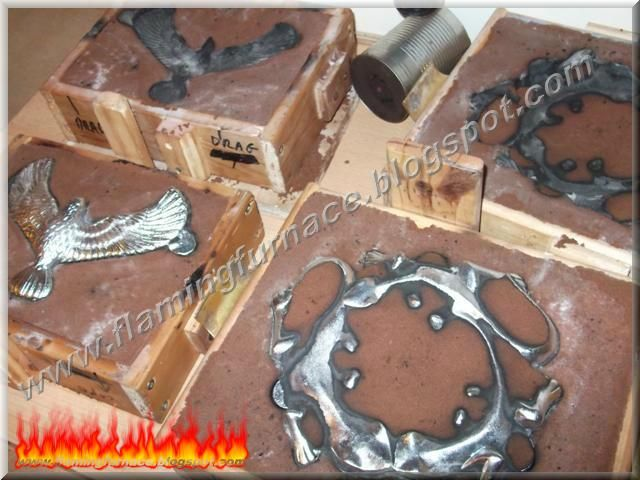 Home metal casting projects