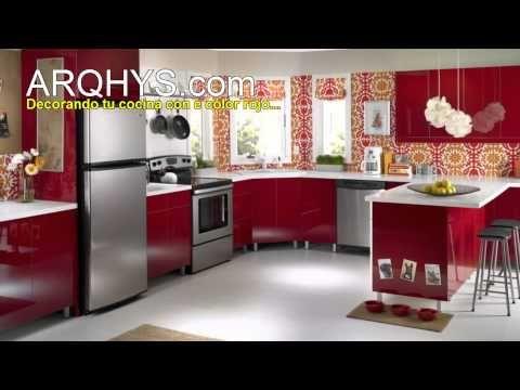 Como Decorar Cocina | Como Decorar Una Cocina Iluminacion Decoracion Colores