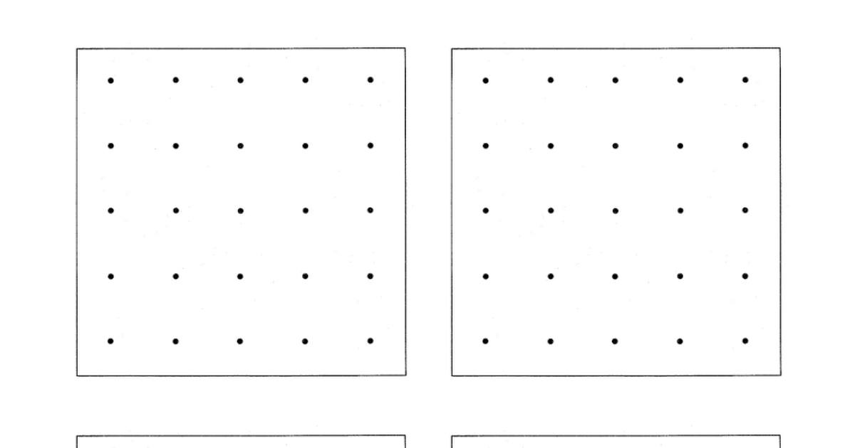 Blank geoboard template | MOPS creative activities | Pinterest ...