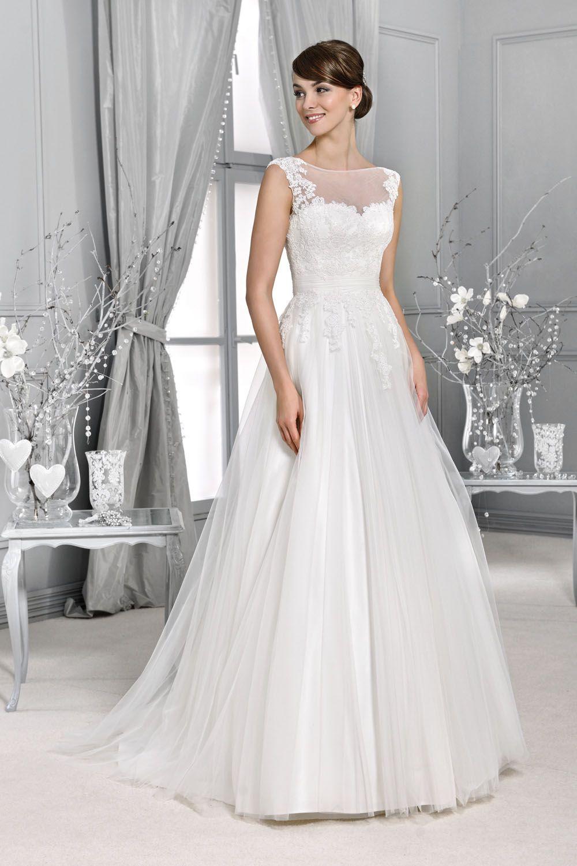 KA -14055 - Brautkleid aus der Agnes by Mode de Pol Kollektion 2015 ...
